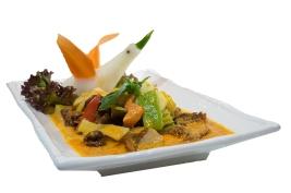 Pato al curry rojo (Royal Thai) mail